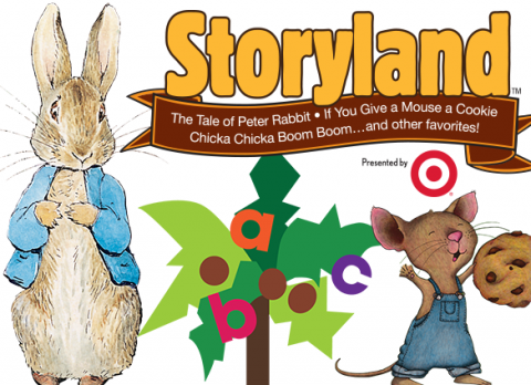 Beloved children's books will come alive with Storyland: A Trip Through Childhood Favorites