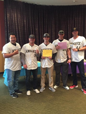 Charlotte Knights show off their crafting skills